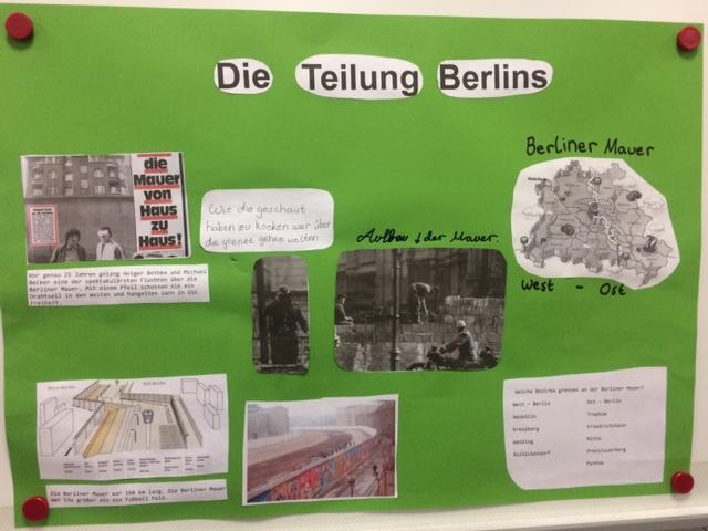 Die Teilung Berlins (Kl. 6b)